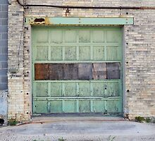 Old Cheese Factory Door by Kathleen Brant