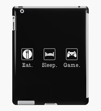 Eat. Sleep. Game. - PlayStation iPad Case/Skin