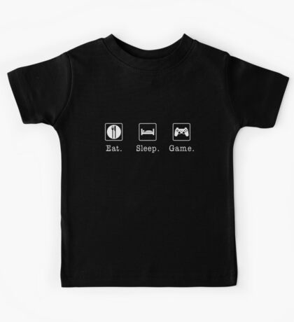 Eat. Sleep. Game. - PlayStation Kids Tee