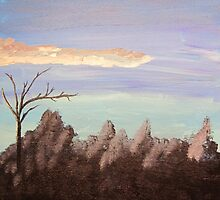 Forest Sky 1of3 by Bryan Kopeck