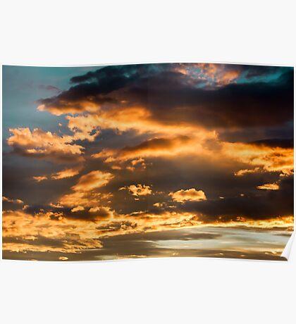 Evening Sky Poster