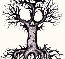 Skull Tree 3 by LVBART