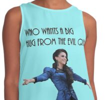 Who wants a big hug from the evil queen ? Contrast Tank