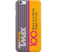 Camera Film Kodak TMax Vintage Film iPhone Case/Skin