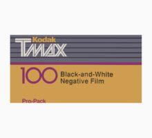 Camera Film Kodak TMax Vintage Film Kids Clothes