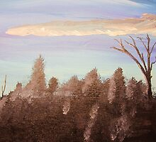 Forest Sky 3 of 3 by Bryan Kopeck