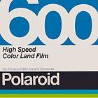 Polaroid Film 600 Design by JakeLovesPhoto