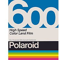 Polaroid Film 600 Design Photographic Print