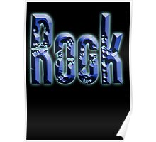 Rock, Rock & Roll Music, Rock it! Rock band, Rockers, on BLACK Poster