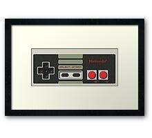 NES Classic Controller Framed Print