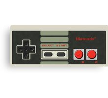 NES Classic Controller Canvas Print