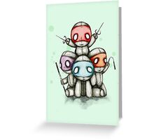 Teenage Mutant Ninja Plush Greeting Card
