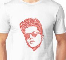 bruno mars thypography RC Unisex T-Shirt