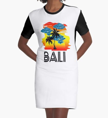 Bali Graphic T-Shirt Dress