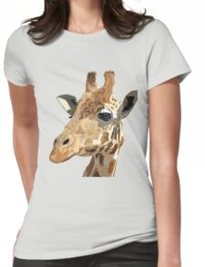 Proud Giraffe  Womens Fitted T-Shirt