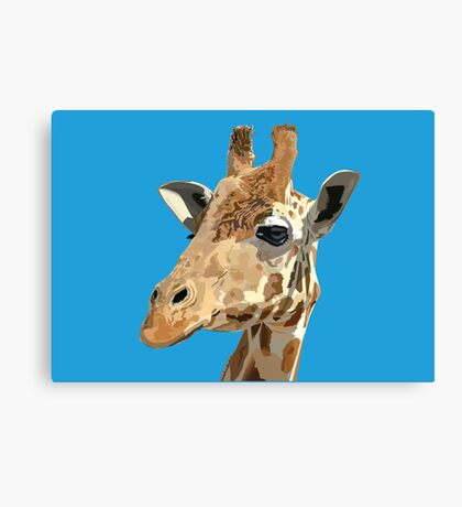 Proud Giraffe  Canvas Print