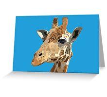 Proud Giraffe  Greeting Card