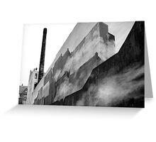 Graffiti - Shipping Containers, Fog, & Copenhagen Greeting Card