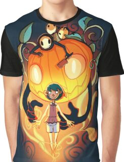 Halloween Spirit Graphic T-Shirt