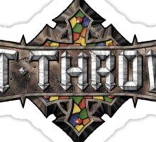 Bolt Thrower Cathedral Logo Sticker