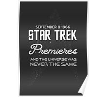 STAR TREK 50TH ANNIVERSARY Poster