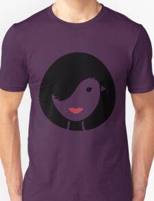 Bird & Girl Illusion Unisex T-Shirt