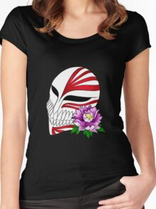 Ichigo's mask Women's Fitted Scoop T-Shirt
