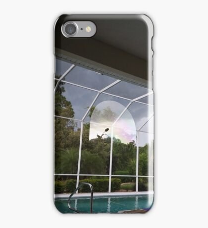 Strange reflections during storm iPhone Case/Skin