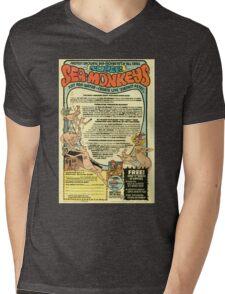 Sea Monkeys Mens V-Neck T-Shirt