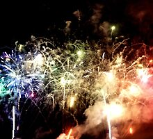 Fireworks at Docklands by Creativity for S4K