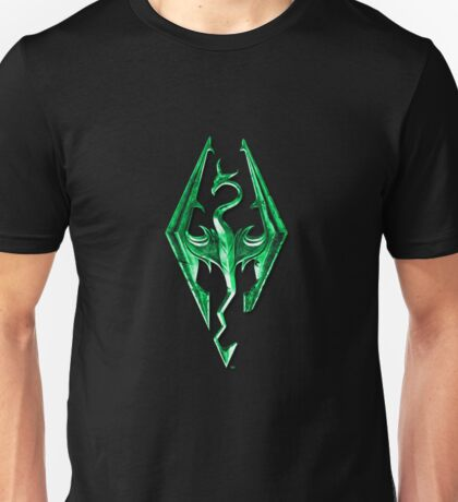 Skyrim Green Glass Unisex T-Shirt