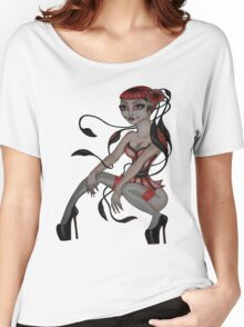 japanese tentacle hair  Women's Relaxed Fit T-Shirt
