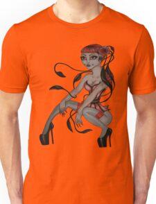 japanese tentacle hair  Unisex T-Shirt