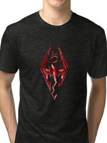 Skyrim - Red Tri-blend T-Shirt