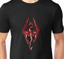 Skyrim - Red Unisex T-Shirt