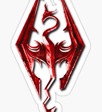 Skyrim - Red Sticker