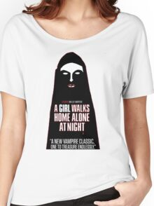 A Girl Walks Home Alone At Night! Women's Relaxed Fit T-Shirt