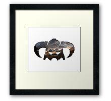 Skyrim Helmet Framed Print