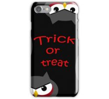 Trick or treat - owls   iPhone Case/Skin
