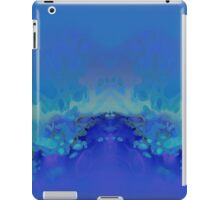 Abstract Blue Green iPad Case/Skin