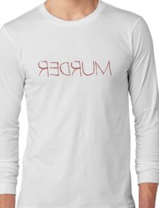 Stanley Kubrick Movie Quotes Shining Horror Murder T-Shirts Long Sleeve T-Shirt