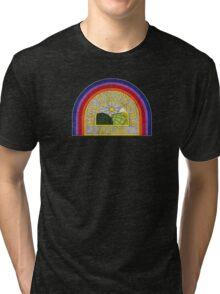 Alien Nostromo patch Tri-blend T-Shirt