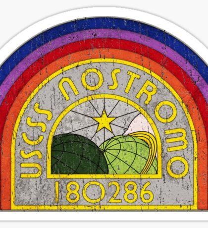 Alien Nostromo patch Sticker