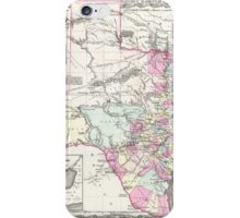 Vintage Map of Texas (1855)  iPhone Case/Skin