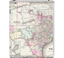 Vintage Map of Texas (1855)  iPad Case/Skin