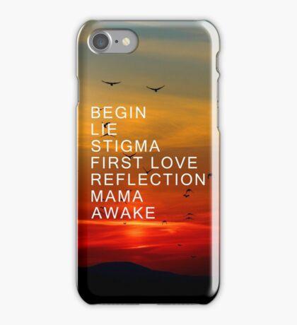 BTS Wings Short Film Lineup Phone Case iPhone Case/Skin