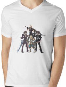 Final Fantasy Characters Mens V-Neck T-Shirt