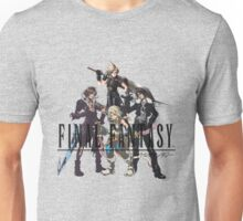 Final Fantasy Characters Unisex T-Shirt