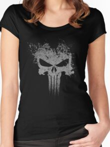 Frank Castle Women's Fitted Scoop T-Shirt