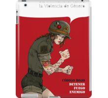 Dia International Contra Violencia de Genero iPad Case/Skin